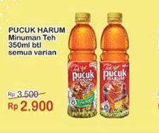 Promo Harga TEH PUCUK HARUM Minuman Teh All Variants 350 ml - Indomaret