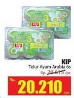 Promo Harga KIP Telur Ayam Arabia 6 pcs - Hari Hari