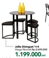 Promo Harga JOLLIE Dining Set  - Carrefour