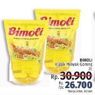 Promo Harga BIMOLI Minyak Goreng 2000 ml - LotteMart
