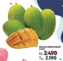 Promo Harga Mangga Harum Manis Super per 100 gr - LotteMart