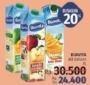 Promo Harga BUAVITA Fresh Juice All Variants 1 ltr - LotteMart