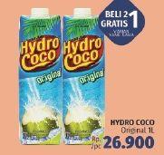 Promo Harga HYDRO COCO Minuman Kelapa Original 1 ltr - LotteMart