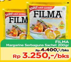 Promo Harga FILMA Margarin 200 gr - TIP TOP