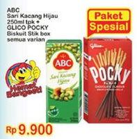 Promo Harga ABC Abc Sari Kacang Hijau/Glico Pocky Stick  - Indomaret