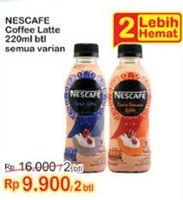 Promo Harga NESCAFE Smoovlatte All Variants per 2 botol 220 ml - Indomaret