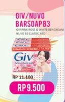 Promo Harga GIV GIV / Nuvo Bar Soap  - Indomaret