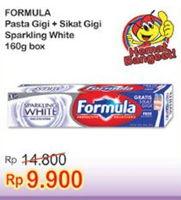 Promo Harga FORMULA Pasta Gigi/ Sikat Gigi Sparkling White  - Indomaret
