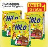 Promo Harga HILO School Susu Bubuk Chocolate 250 gr - Indomaret