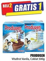 Promo Harga PRODUGEN Vitafirst Coklat, Vanila 500 gr - Hari Hari