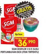Promo Harga SGM Eksplor Soya 1-5 Susu Pertumbuhan  - Superindo