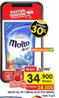 Promo Harga MOLTO All in 1 Blue 1600 ml - Superindo
