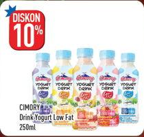 Promo Harga CIMORY Yogurt Drink Low Fat 250 ml - Hypermart