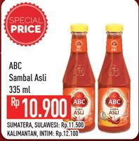 Promo Harga ABC Sambal Asli 335 ml - Hypermart
