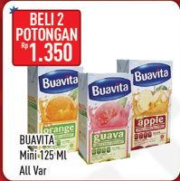 Promo Harga BUAVITA Fresh Juice All Variants per 2 box 125 ml - Hypermart
