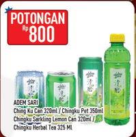 Promo Harga ADEM SARI ADEM SARI Chingku/Chingku Sparkling Herbal Lemon  - Hypermart