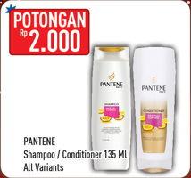 Promo Harga PANTENE Shampo/Conditioner All Variants 135 ml - Hypermart