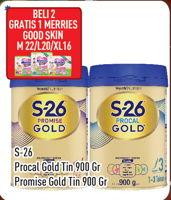 Promo Harga S26 S26 Procal/Promise Gold Susu Pertumbuhan 900gr  - Hypermart