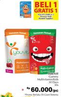 Promo Harga YOUVIT YOUVIT Multivitamin Anak/Gummy Vit 30s  - Giant