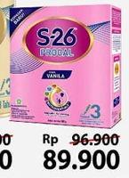 Promo Harga S26 Procal Susu Pertumbuhan Vanilla 400 gr - Alfamart