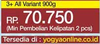 Promo Harga SGM Eksplor 3+ Susu Pertumbuhan All Variants 900 gr - Yogya
