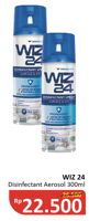 Promo Harga WIZ 24 Disinfektan Spray and Clean Disinfectant 300 ml - Alfamidi