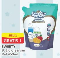 Promo Harga SWEETY Baby Liquid Cleanser 450 ml - Alfamart