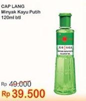 Promo Harga CAP LANG Minyak Kayu Putih 120 ml - Indomaret