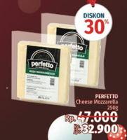 Promo Harga PERFETTO Keju Mozzarella 250 gr - LotteMart