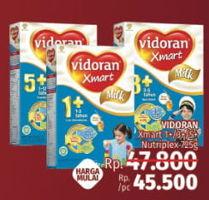 Promo Harga VIDORAN Xmart 1+/3+/5+ 725 gr - LotteMart