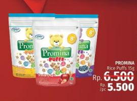Promo Harga PROMINA Puffs 15 gr - LotteMart