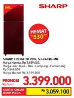 Promo Harga SHARP SJ-246XG  - Carrefour