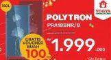 Promo Harga POLYTRON PRA 18   Kulkas 1 Pintu 180ltr  - Yogya