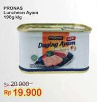 Promo Harga PRONAS Daging Ayam Luncheon 198 gr - Indomaret