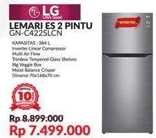 Promo Harga LG GN-C422SLCN | Lemari Es 2 Pintu  - Courts
