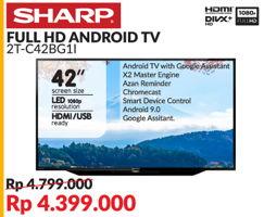"Promo Harga SHARP 2T-C42BG1i | Full HD Android TV 42""  - Courts"