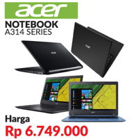Promo Harga ACER A314 Series  - Courts