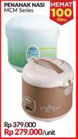 Promo Harga MIYAKO Rice Cooker MCM Series  - Courts
