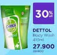 Promo Harga DETTOL Body Wash 410 ml - Watsons