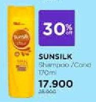 Promo Harga SUNSILK Shampo & Kondisioner 170 ml - Watsons