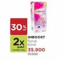 Promo Harga IMBOOST Multivitamin Sirup 60 ml - Watsons