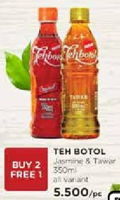 Promo Harga SOSRO Teh Botol Jasmine, Tawar 350 ml - Watsons