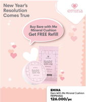 Promo Harga EMINA Bare With Me Cushion  - Guardian
