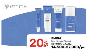 Promo Harga EMINA EMINA Ms. Pimple Series  - Guardian