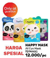 Promo Harga HAPPY MASK Eye Mask All Variants  - Guardian