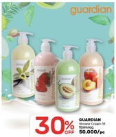 Promo Harga GUARDIAN Shower Cream 1 ltr - Guardian