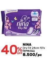 Promo Harga BAGUS NINA Dry Fit 24cm 10 pcs - Guardian