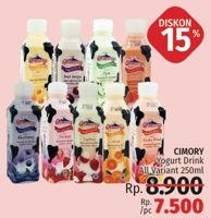 Promo Harga CIMORY Minuman Yogurt All Variants 250 ml - LotteMart