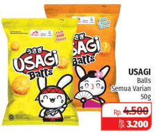 Promo Harga DUA KELINCI Usagi Balls All Variants 50 gr - Lotte Grosir