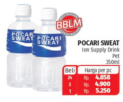 Promo Harga POCARI SWEAT Minuman Isotonik 350 ml - Lotte Grosir